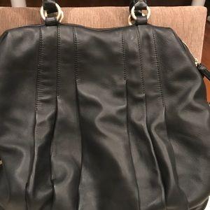 Ann Taylor XL leather bag